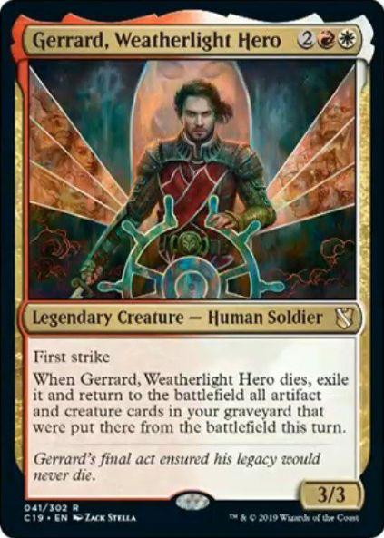 Gerrard, Weatherlight Hero(統率者2019)
