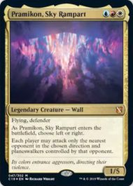 Pramikon, Sky Rampart(統率者2019)