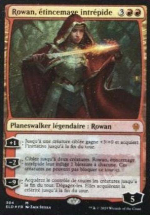 「ローアン」の名を持つプレインズウォーカー・カード(エルドレインの王権)