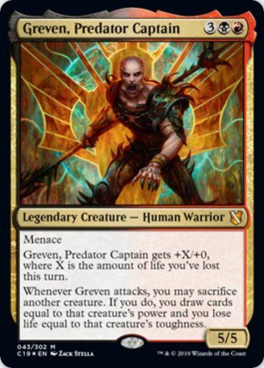 Greven, Predator Captain(統率者2019)