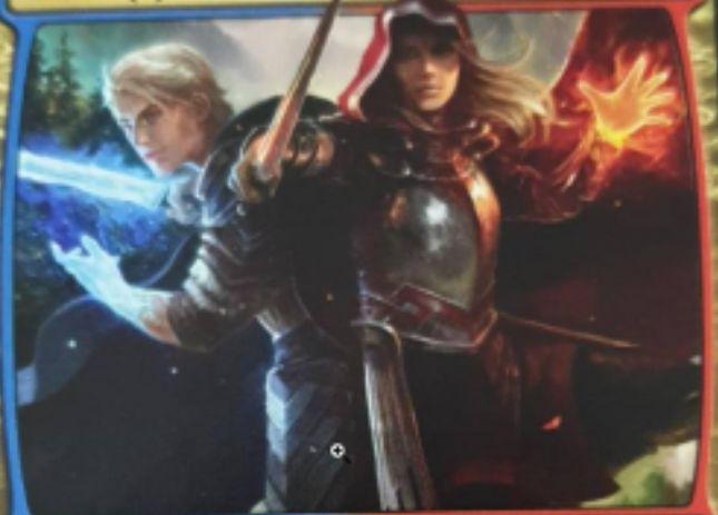 【リーク】青赤でウィルとローアンの両PWタイプを持つプレインズウォーカー「The Royal Scions(エルドレインの王権)」が情報漏洩!?