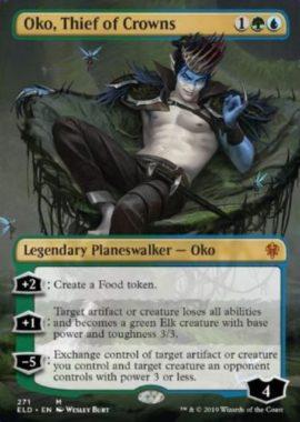 Oko, Thief of Crowns:エルドレインの王権・拡張アート