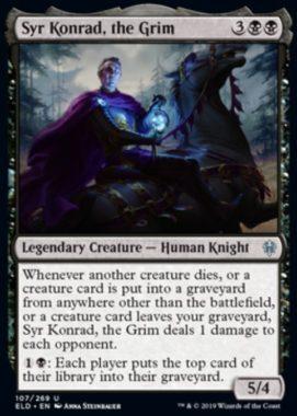 Syr Konrad, the Grim(エルドレインの王権)