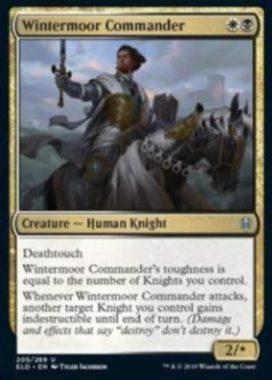 Wintermoor Commander(エルドレインの王権)