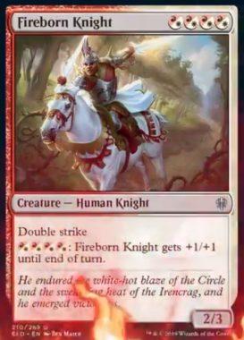 Fireborn Knight(エルドレインの王権)