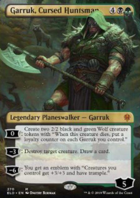 Garruk, Cursed Huntsman(エルドレインの王権)