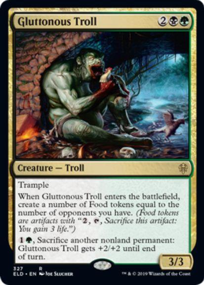 Gluttonous Troll(エルドレインの王権)
