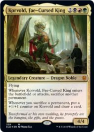Korvold, Fae-Cursed King(エルドレインの王権)