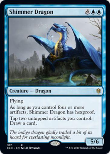 【MTGデッキ】《煌めくドラゴン(Shimmer Dragon)》の採用デッキレシピ情報まとめ