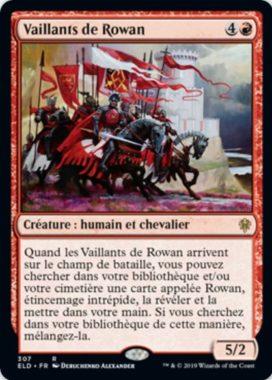 レアのPWサーチ持ちカード:エルドレインの王権「PWデッキ ローアン」収録