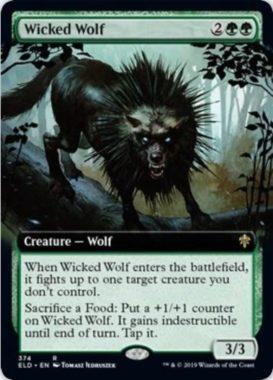 Wicked Wolf(エルドレインの王権 ショーケース版)