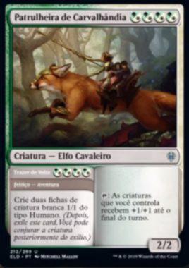 Ranger of Carvalhandia(エルドレインの王権)
