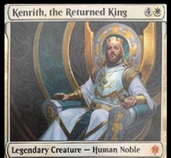 【エルドレインの王権】白伝説神話の貴族人間「Kenrith, the Returned King」が公開!5/5&5色の起動型能力を持つ!行方不明だったウィルとローアンの父親!?