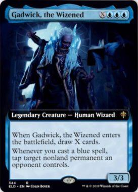 Gadwick, the Wizened(エルドレインの王権 拡張アート版)