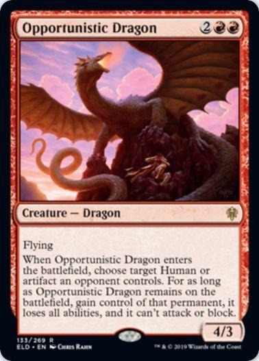 Opportunistic Dragon(エルドレインの王権)
