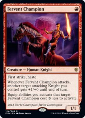 Fervent Champion(エルドレインの王権)