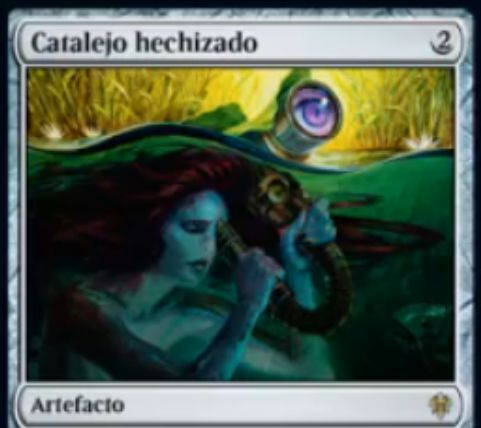 【エルドレインの王権】魔術遠眼鏡(Sorcerous Spyglass)が新規アートで再録!イクサラン初出のアーティファクト!