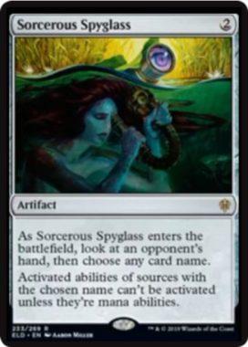 魔術遠眼鏡(Sorcerous Spyglass)エルドレインの王権・英語版