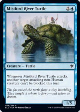 Mistford River Turtle(エルドレインの王権)