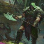 呪われた狩人、ガラク(Garruk, Cursed Huntsman)PC壁紙