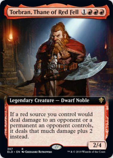 Torbran, Thane of Red Fell(エルドレインの王権)拡張アート版