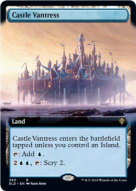 Castle Vantress(エルドレインの王権)拡張アート版