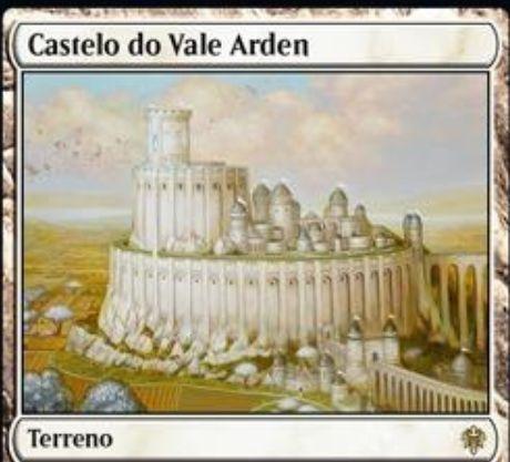 【エルドレインの王権】白マナが出るレア土地「Castle Ardenvale」が公開!平地がないならタップイン&白白2・タップで1/1の白人間トークンを生成!