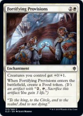 Fortifying Provisions(エルドレインの王権)