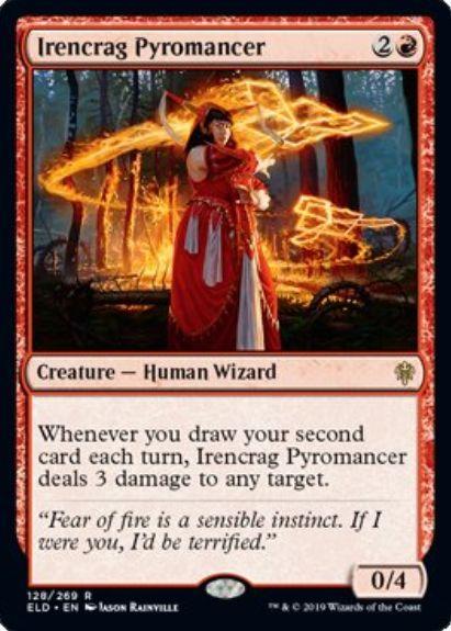 Irencrag Pyromancer(エルドレインの王権)