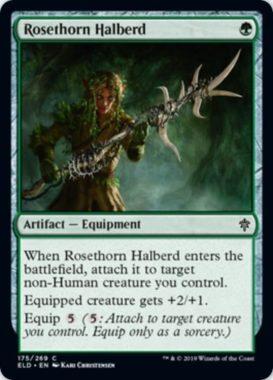 Rosethorn Halberd(エルドレインの王権)