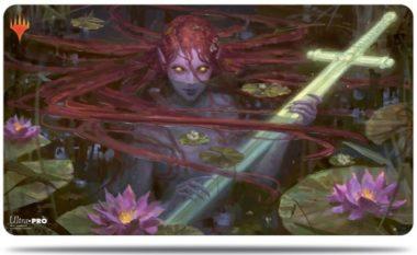 湖に潜む者、エムリー:エルドレインの王権 プレイマット
