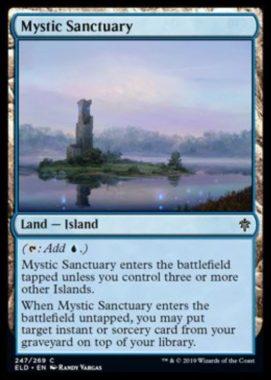 Mystic Sanctuary(エルドレインの王権)