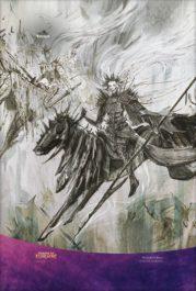 【アート】残忍な騎士(エルドレインの王権)スマホ壁紙