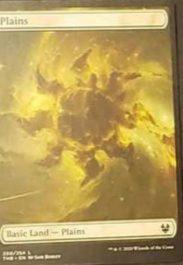 平地:フルアート基本土地:MTG「テーロス還魂記」非公式スポイラーより