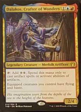 (Dalakos, Crafter of Wonders):MTG「テーロス還魂記」非公式スポイラーより