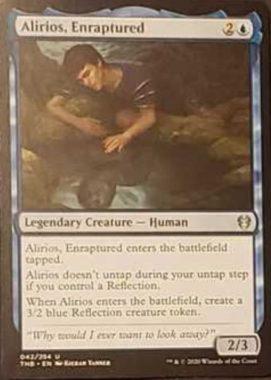 (Alirios, Enraptured):MTG「テーロス還魂記」非公式スポイラーより