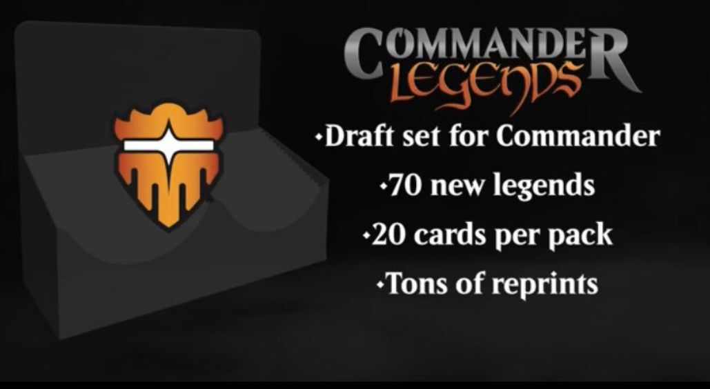 MTG「Commander Legends」の情報