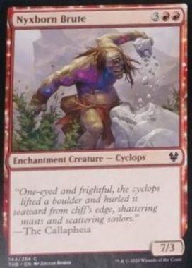 (Nyxborn Brute):MTG「テーロス還魂記」非公式スポイラーより