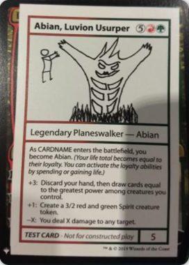 Abian, Luvion Usurper | Mystery Booster(ミステリーブースター)収録カード