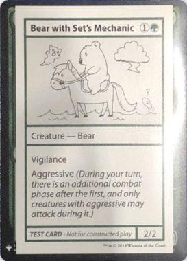 Bear with Set's Mechanic | Mystery Booster(ミステリーブースター)収録カード