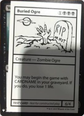 Buried Ogre | Mystery Booster(ミステリーブースター)収録カード