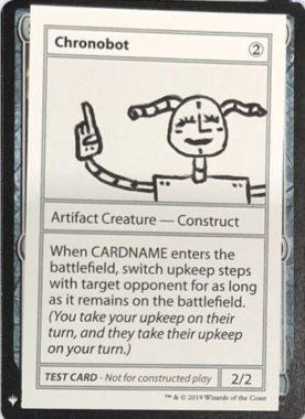 Chronobot | Mystery Booster(ミステリーブースター)収録カード