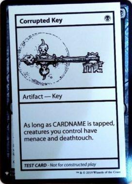 Corrupted Key | Mystery Booster(ミステリーブースター)収録カード