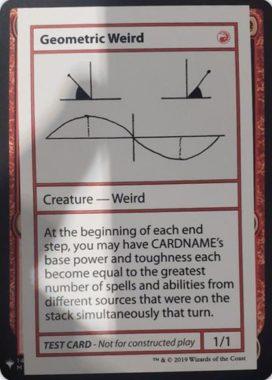 Geometric Weird | Mystery Booster(ミステリーブースター)収録カード