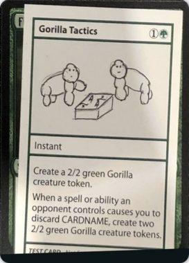 Gorilla Tactics | Mystery Booster(ミステリーブースター)収録カード