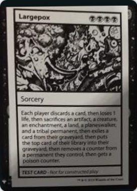 Largepox | Mystery Booster(ミステリーブースター)収録カード
