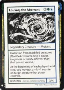 Louvaq, the Aberrant | Mystery Booster(ミステリーブースター)収録カード