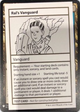 Ral's Vanguard | Mystery Booster(ミステリーブースター)収録カード
