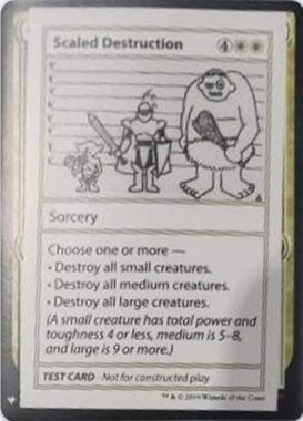 Scaled Destruction   Mystery Booster(ミステリーブースター)収録カード