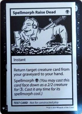Spellmorph Raise Dead | Mystery Booster(ミステリーブースター)収録カード